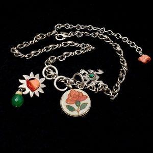 Vintage Chico's Necklace 3 Pendants